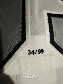 WAYNE GRETZKY Signed LA Kings Jersey WGA #34 out of 99 GREAT TRADE LE99 Auto