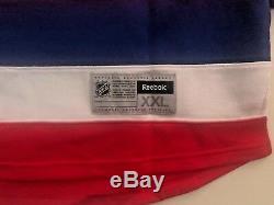 Washington Capitals Jersey Braden Holtby Autographed Authentic Reebok XXL JSA