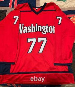 Washington Capitals TJ Oshie Autographed Jersey with Inscription