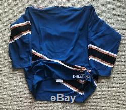 Washington Capitals jersey CCM Air Knit Sz 48 NWT fight strap