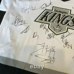 Wayne Gretzky 1993-94 Los Angeles Kings Team Game Model Signed Jersey JSA COA