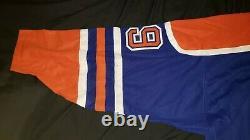 Wayne Gretzky Autographed Blue CCM Edmonton Oilers Jersey WGA / UDA COA