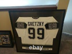 Wayne Gretzky Autographed LA Kings Jersey PSA Certified Authentic