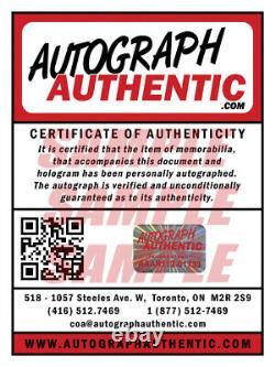 Wayne Gretzky Autographed White CCM Edmonton Oilers Jersey WGA / UDA COA