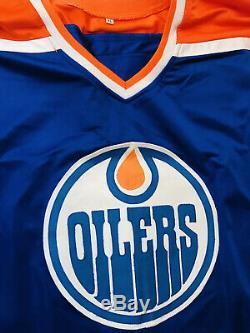 Wayne Gretzky Edmonton Oilers Signed Autographed Jersey COA