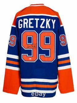Wayne Gretzky Edmonton Oilers Signed CCM Heroes of Hockey Jersey UDA LOA