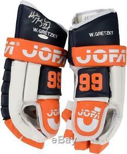 Wayne Gretzky Edmonton Oilers Signed JOFA Right Hand Hockey Glove Upper Deck
