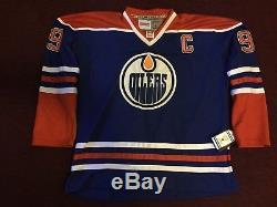 Wayne Gretzky HOF Edmonton Oilers Auto Signed CCM Size 54 Jersey with C JSA LOA