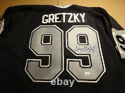 Wayne Gretzky Los Angeles Kings Signed Auto Hockey Jersey JSA Cert. Autograph