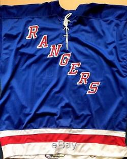 Wayne Gretzky New York Rangers Signed Autograph Official Starter Jersey Wga Holo