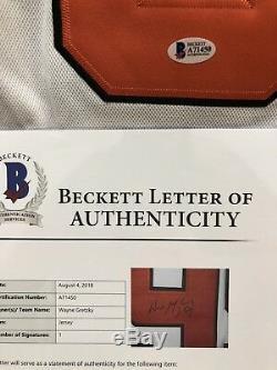 Wayne Gretzky Signed All Star Game Jersey Beckett Bas Loa Los Angeles Kings 2