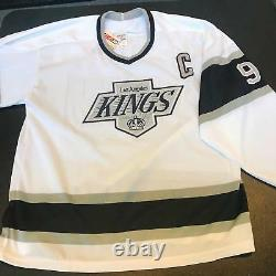 Wayne Gretzky Signed Authentic 1990's CCM Los Angeles Kings Jersey With JSA COA