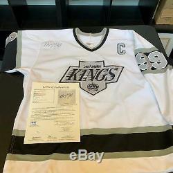 Wayne Gretzky Signed Authentic Los Angeles Kings CCM Game Model Jersey JSA COA