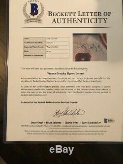 Wayne Gretzky Signed Authentic New York Rangers NHL CCM Jersey- Beckett