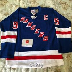 Wayne Gretzky Signed Autograph New York Rangers Replica Jersey Wga