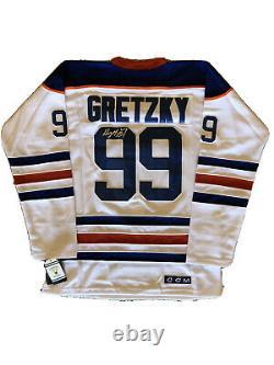 Wayne Gretzky Signed Autographed Edmonton Oilers Hockey Jersey PROOF