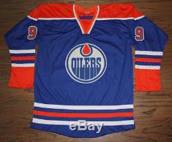 Wayne Gretzky Signed Autographed Jersey Bas Loa #a06318 Edmonton Oilers Hof