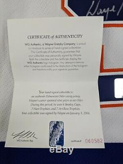 Wayne Gretzky Signed Autographed Oilers WG Authentic Double Tagged 54 CCM Jersey