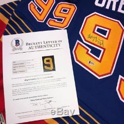 Wayne Gretzky Signed CCM 1996 St. Louis Blues Jersey Beckett Coa A07256 Oilers