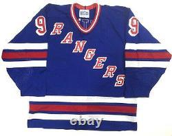 Wayne Gretzky Signed Cosby CCM Rangers Vintage AUTHENTIC Pro Jersey Auto JSA