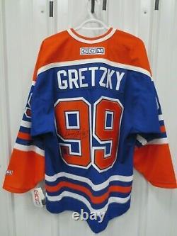 Wayne Gretzky Signed Edmonton Oilers Jersey #99