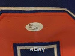 Wayne Gretzky Signed Jersey Edmonton Oilers Jsa COA Letter