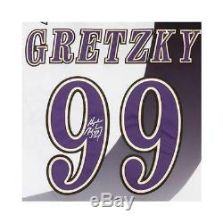 Wayne Gretzky Signed L. A. Kings Burger King Jersey Uda Authenticated