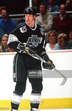 Wayne Gretzky Signed Los Angeles Kings 1991 NHL 75th CCM Jersey Psa Loa Aa06511