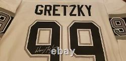 Wayne Gretzky Signed Los Angeles Kings CCM Replica Jersey UDA and FANATICS COA