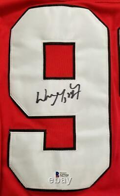 Wayne Gretzky signed Team Canada Jersey Autograph Beckett BAS COA