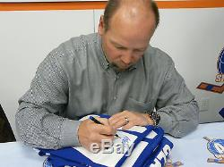 Wendel Clark signed Toronto Maple Leaf Jersey COA/HOLO 1st Overall 1985