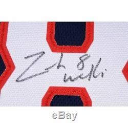 Zach Werenski Blue Jackets Signed Navy Blue Fanatics Breakaway Jersey Fanatics