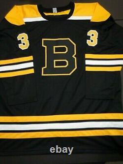 Zdeno Chara Boston Bruins Autographed Signed Black Style Jersey XL w-coa JSA