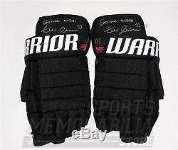 Zdeno Chara Boston Bruins Signed Autographed Inscribed Game Worn Warrior Gloves