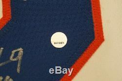 1980 Team USA Miracle Hockey Autographié Signé Jersey Jim Craig Mike Eruzione