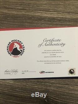 2018 Équipe De La LNH Jeu All Star Jersey Signé Mcdavid Matthews Crosby Ovi (ahl Coa)