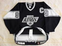 # 99 Jsa Wayne Gretzky NHL Signed Jeu Jersey CCM Kings De Los Angeles Lutte Dragonne