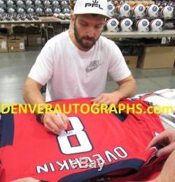 Alex Ovechkin Chandail Des Capitals De Washington Autographié Par Reebok Red XL Fan 23776