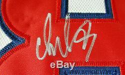 Alexander Ovechkin / Autographiés Capitals De Washington Pro Style Jersey Capitaine