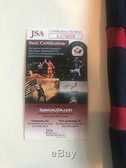 Atlanta Thrashers Jersey Dany Heatley Autographed Très Rare 3 Patches Jsa