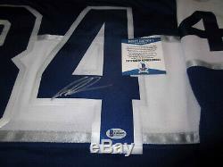 Auston Matthews Les Maple Leafs De Toronto Ont Signé Le Jersey Autographié Avec Du Bas Coa XL