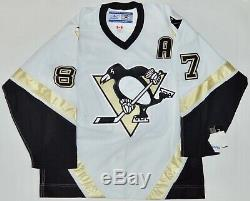 Auto Frameworth Sidney Crosby Des Penguins De Pittsburgh Authentique Reebok Jersey