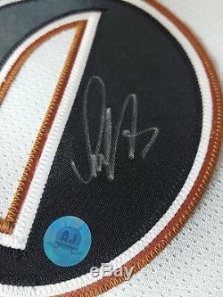 Autographe Signé Alexander Ovechkin Vintage Chandail Des Capitales De Washington Rookie