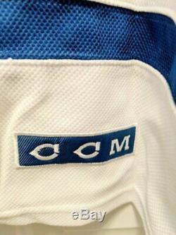 Avec De Nouvelles Balises Wayne Gretzky CCM Oilers D'edmonton (blanc) Signé Jersey Coa