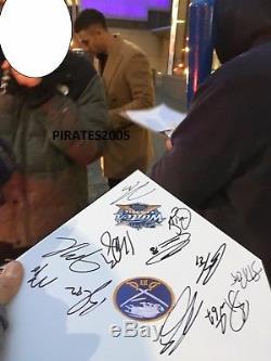 Bataille De La Classique Hivernale Signée Par L'équipe Des Sabres De Buffalo 2018, Eichel Kane O'reilly