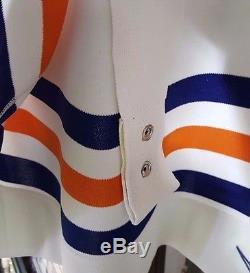 Beauté Rare! Classic Wayne Gretzky Nike Jersey 54 Oilers Jeu Jersey Tags