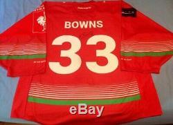 Ben Bowns Cardiff Devils 2018/19 Maillot Domestique Porté Par Le Jeu De La Lch