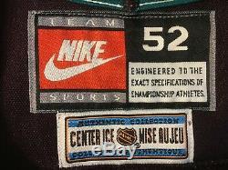 Bracelet De Combat En Jersey De La LNH Autographié Par Paul Kariya, Nike, Vintage, Nike