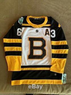 Brad Marchand Signé Bruins De Boston Winter Classic Jersey Autographié 2019
