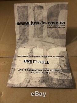 Brett Hull Autographed Jersey Authentique Sur La Taille De La Glace 54 Avec Coa! St Louis Blues